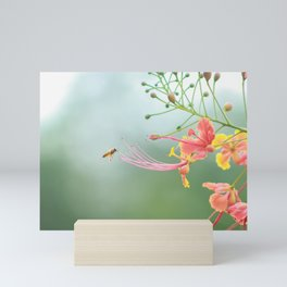 Buzzing around Mini Art Print