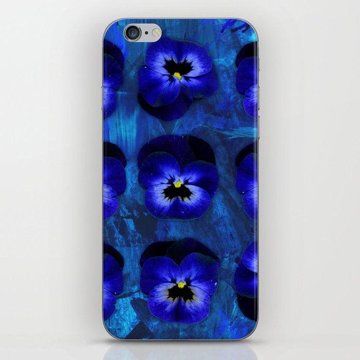 Deep Blue Velvet iPhone Skin