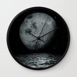 artificial satellite Wall Clock