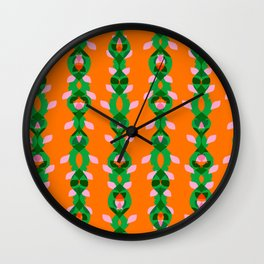 Jungle Vines 02 Wall Clock
