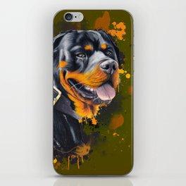 Rottweiler iPhone Skin