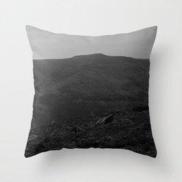 Dark Landscape 2 Throw Pillow