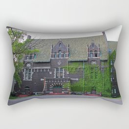 Old West End Mary Manse College Auditorium aka Lois Nelson Theater I Rectangular Pillow