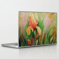 iris Laptop & iPad Skins featuring Iris by OLHADARCHUK