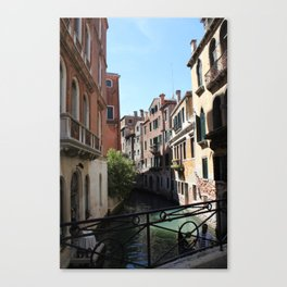 Streets of Water Canvas Print