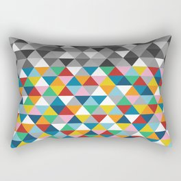 Triangles with Topper Rectangular Pillow