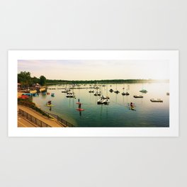 Lake Calhoun Art Print