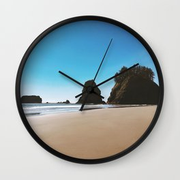 Second Beach Wall Clock