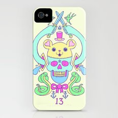 triskaidekaphilia iPhone (4, 4s) Slim Case