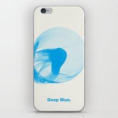 Deep Blue iPhone & iPod Skin