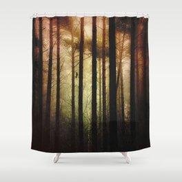 Forbidden Societies Shower Curtain