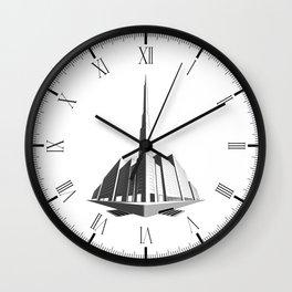 City Block Perspective Wall Clock