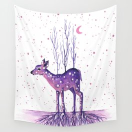 Rooted Deer Wall Tapestry