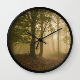 Alone in the Mist Wall Clock