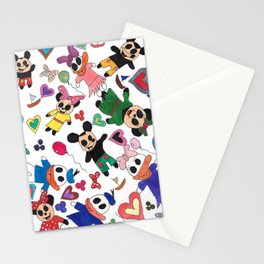 Meep meets magic Stationery Cards