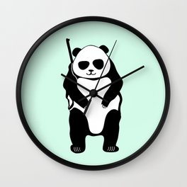 hunting bears Wall Clock