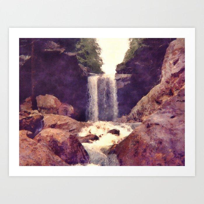 Kentucky Waterfall Art Print