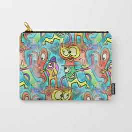 Crazy Characters Carry-All Pouch