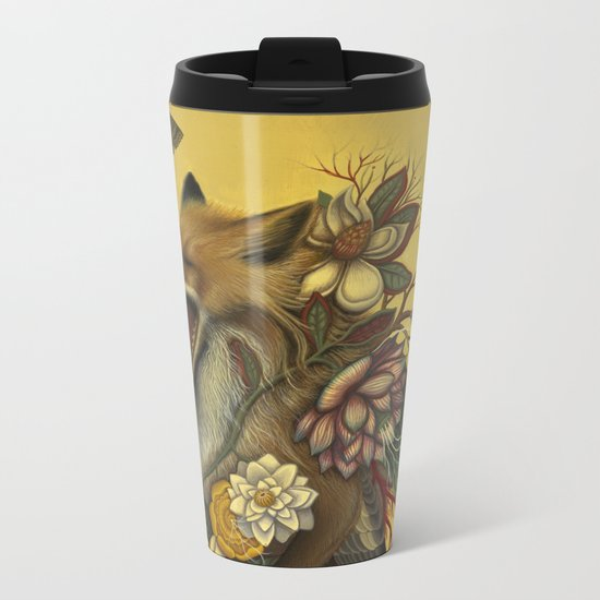 Fox Confessor Metal Travel Mug