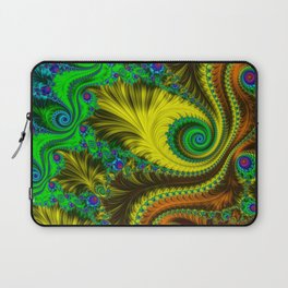 Fractal - My Mother's Dress Laptop Sleeve