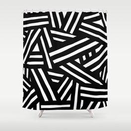 Monochrome 01 Shower Curtain