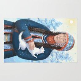 Lady with an Ermine Rug
