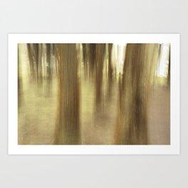 Nature abstract Art Print