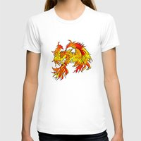 phoenix T-shirts featuring Phoenix by Rishi Parikh