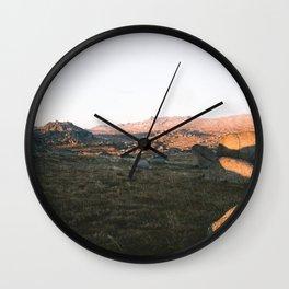 First Light on Rams Head Wall Clock