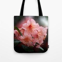 Tortoiseshell Wonder Rhododendron Tote Bag