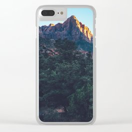 Zion NP Clear iPhone Case