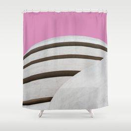 Guggenheim Museum of modern art in New York Shower Curtain