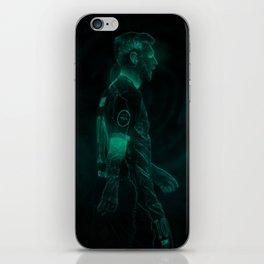 MESSI / GLOW ART iPhone Skin
