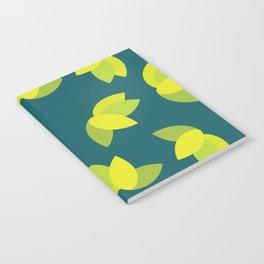 Geometric Leaves Notebook