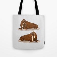 Pacific Walrus Tote Bag