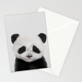 Baby Panda Print, Nursery Animal - Printable Wall Art - Kids Bedroom Poster, Boys Room Decor Stationery Cards