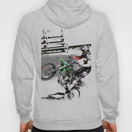 Making a Stand - Freestyle Motocross Rider Hoody