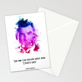 Pierce brosnan quotes Stationery Cards