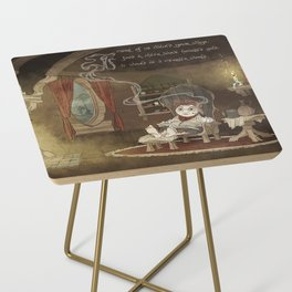 A Merrier World Side Table