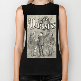 Army of Darkness Anachronism Print Biker Tank
