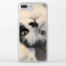 Hello human... Clear iPhone Case
