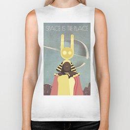 SUN RA: SPACE IS THE PLACE Biker Tank