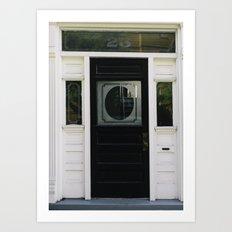 Charleston Doorstep V Art Print