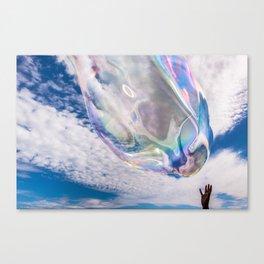 Bubble Touch Canvas Print
