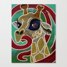 Giraffes of Vegas Canvas Print