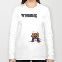 the thing Long Sleeve T-shirts featuring Thing by ToppArt