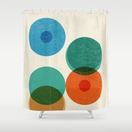 Division Shower Curtain