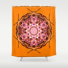 Button Shower Curtain