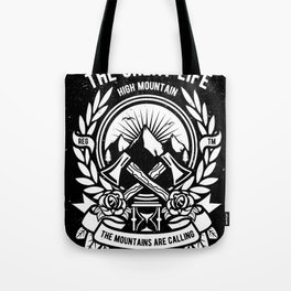 Mountains Adventure Tote Bag