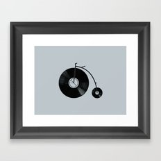 Ride Your Music! Framed Art Print